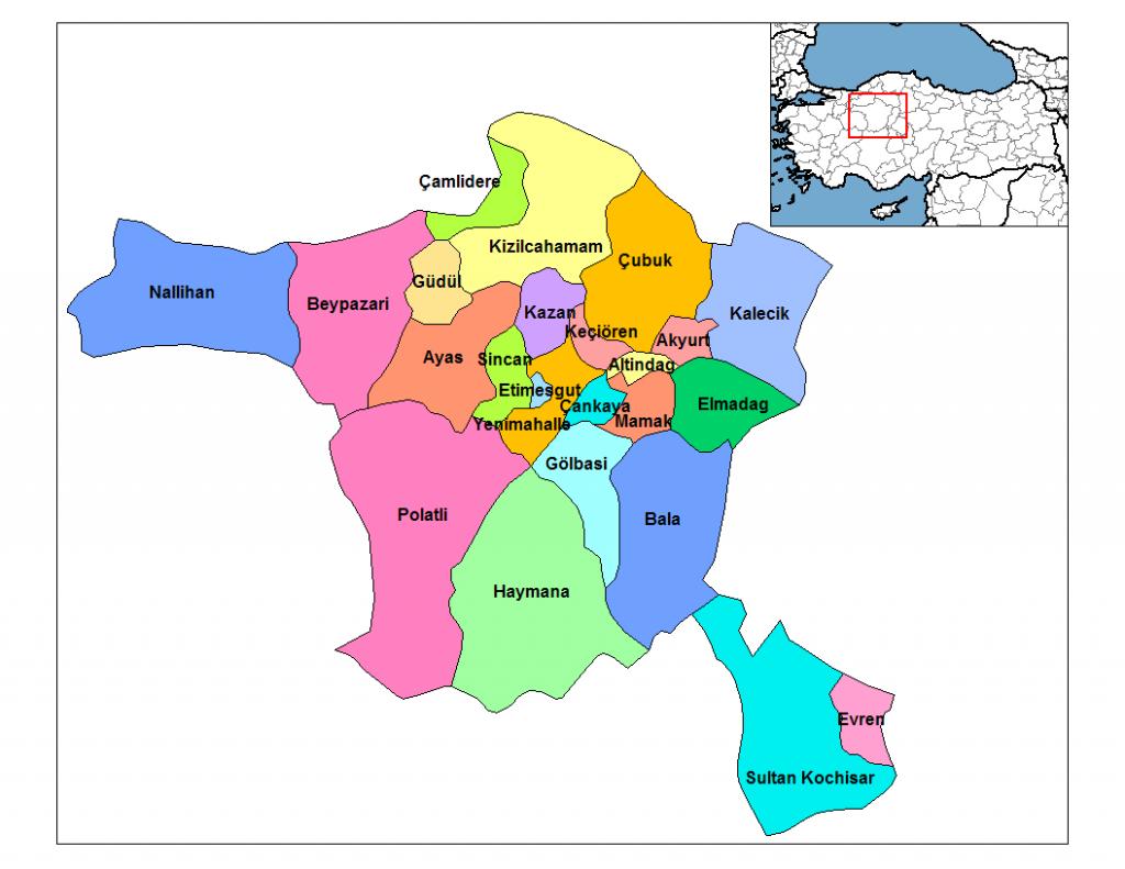 Ankara Harita. Ankara Sohbet